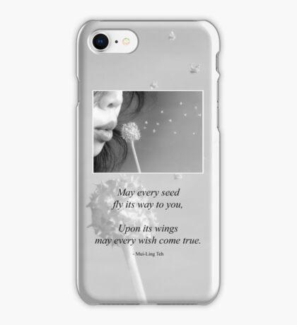 Wish iPhone Case/Skin