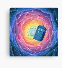 Kaleidoscope TARDIS Canvas Print