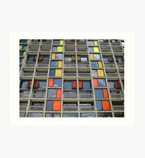 Park Hill - Urban Splashed Art Print