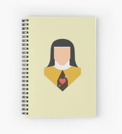 St. Teresa of Avila Spiral Notebook