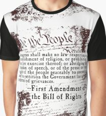 FIRST Amendment US Constitution   Graphic T-Shirt
