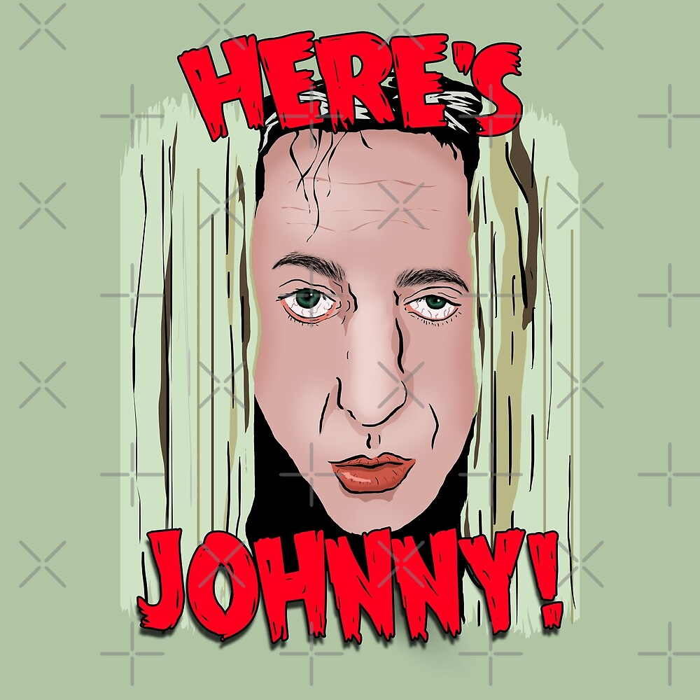 The Room - Here's Johnny! by Barnyardy