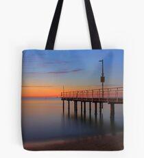 Esplanade Jetty - Rockingham Western Australia  Tote Bag