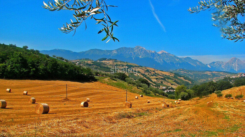 Abruzzo Countryside by shaley