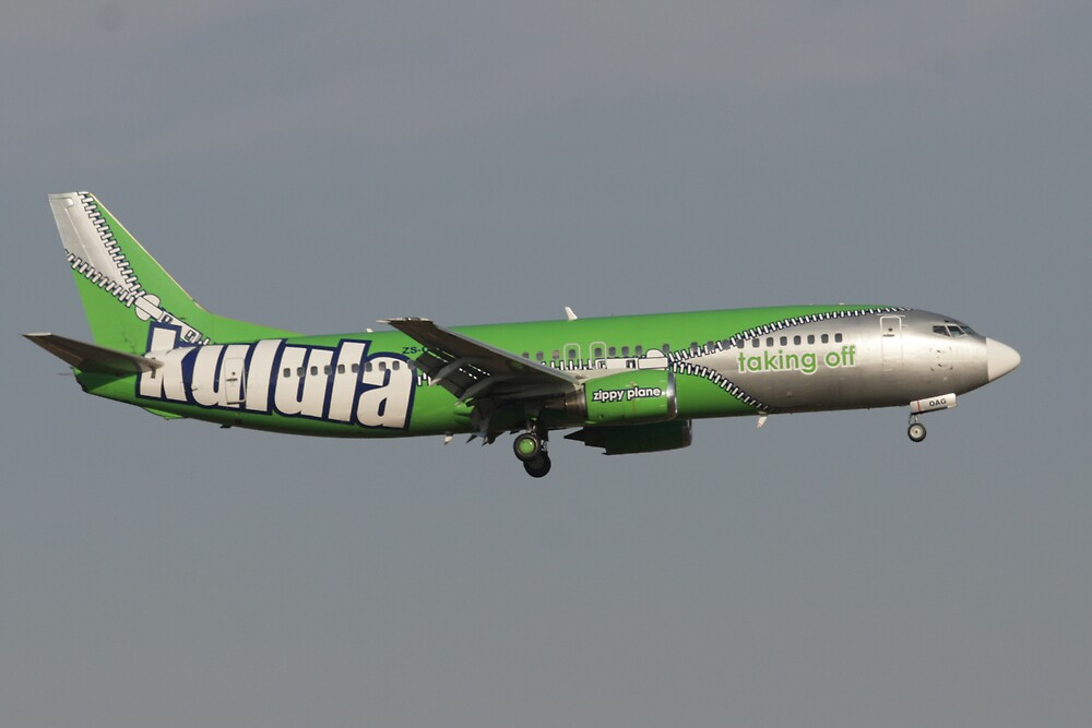 Kulula.com Anothe Paint Scheme by Paul Lindenberg