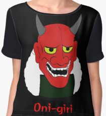 Oni-giri Women's Chiffon Top
