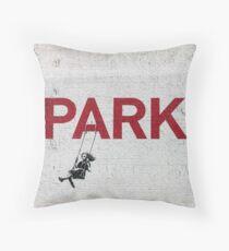 """Banksy - """"Parken"""" Dekokissen"""