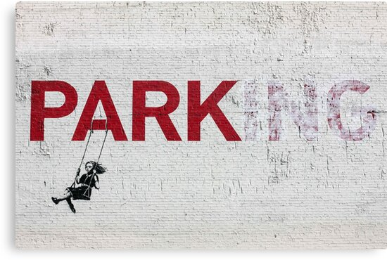 "Banksy - ""Parking"" by Mister Whippy"