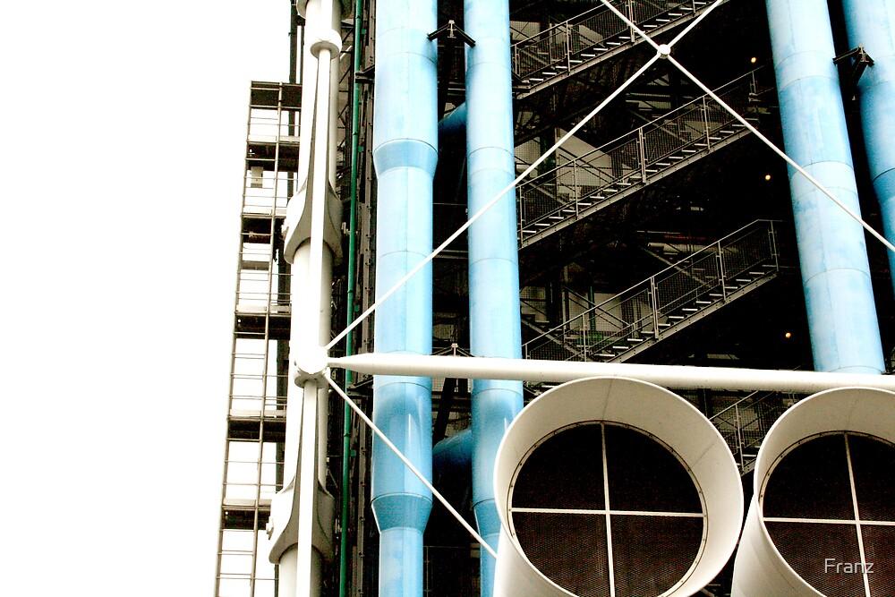 Centre National d'Art et de Culture Georges Pompidou by Franz