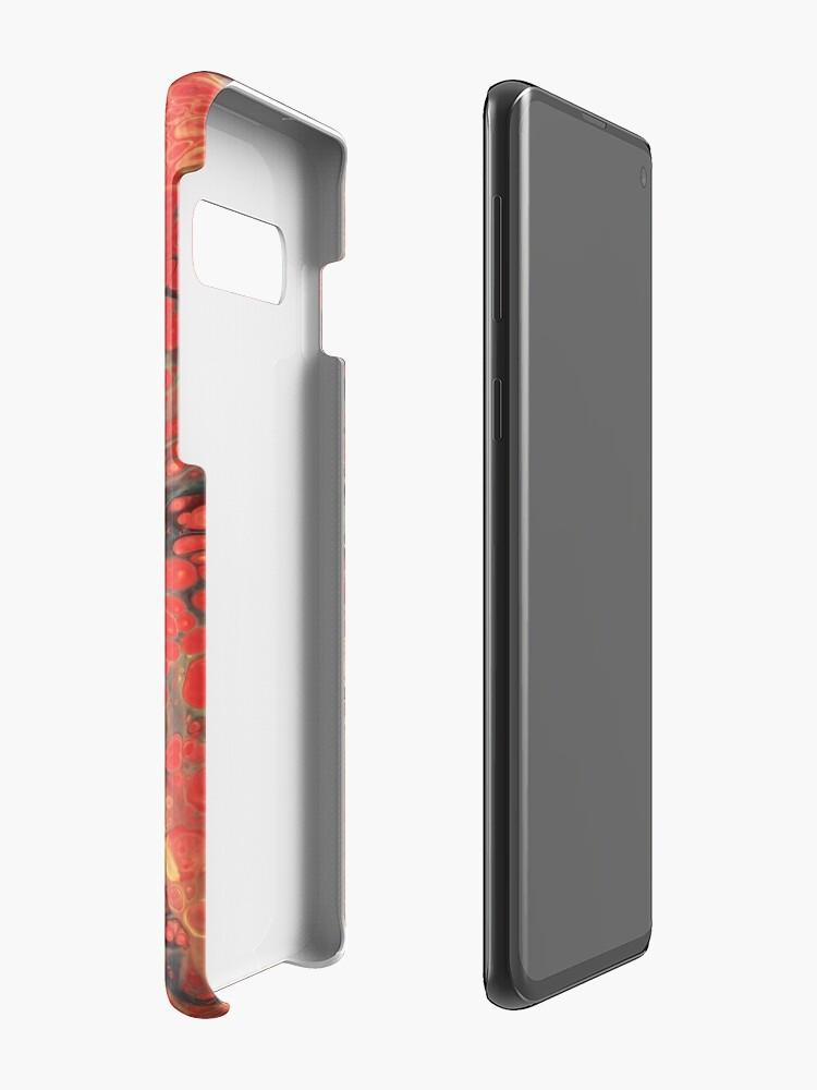 Alternative Ansicht von Roter Basalt Hüllen & Klebefolien für Samsung Galaxy