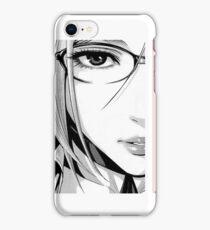 'Beautiful - Woman' - Anime lofi aesthetic  iPhone Case/Skin