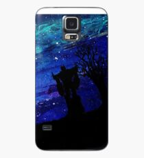 Optimus Against Starry Sky Case/Skin for Samsung Galaxy