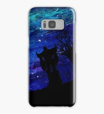 Optimus Against Starry Sky Samsung Galaxy Case/Skin