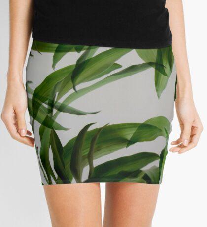 Tropische Blätter Minirock
