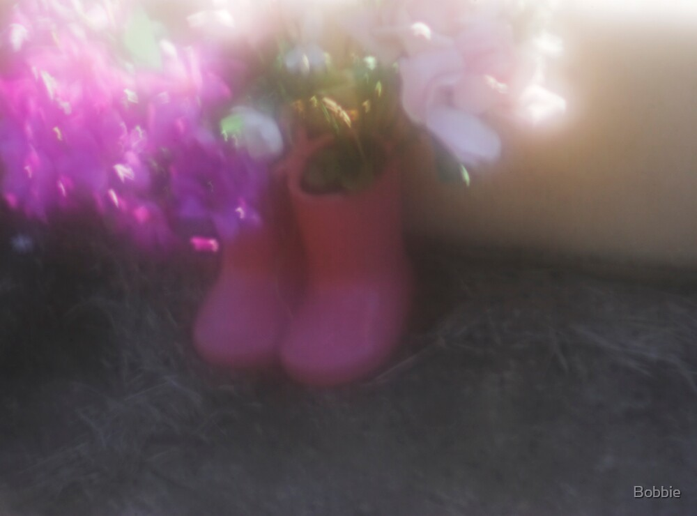 Little Pink Boots by Bobbie