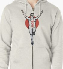 Glico Man Zipped Hoodie