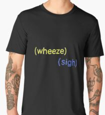 wheeze sigh buzzfeed unsolved Men's Premium T-Shirt