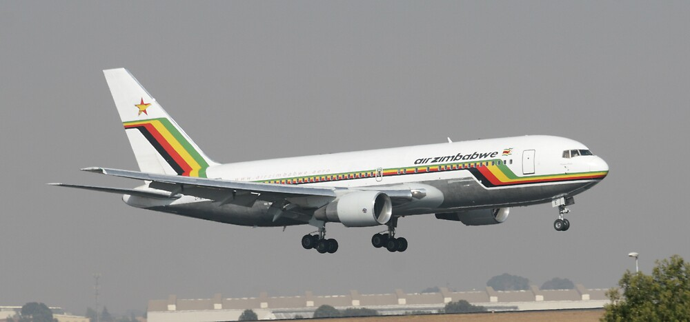Air Zimbabwe Drops In by Paul Lindenberg