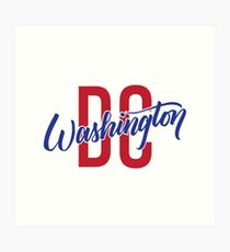 Washington DC Art Print