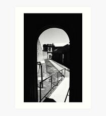 View From Inside The Hanging Tower, Old Adelaide Gaol Art Print