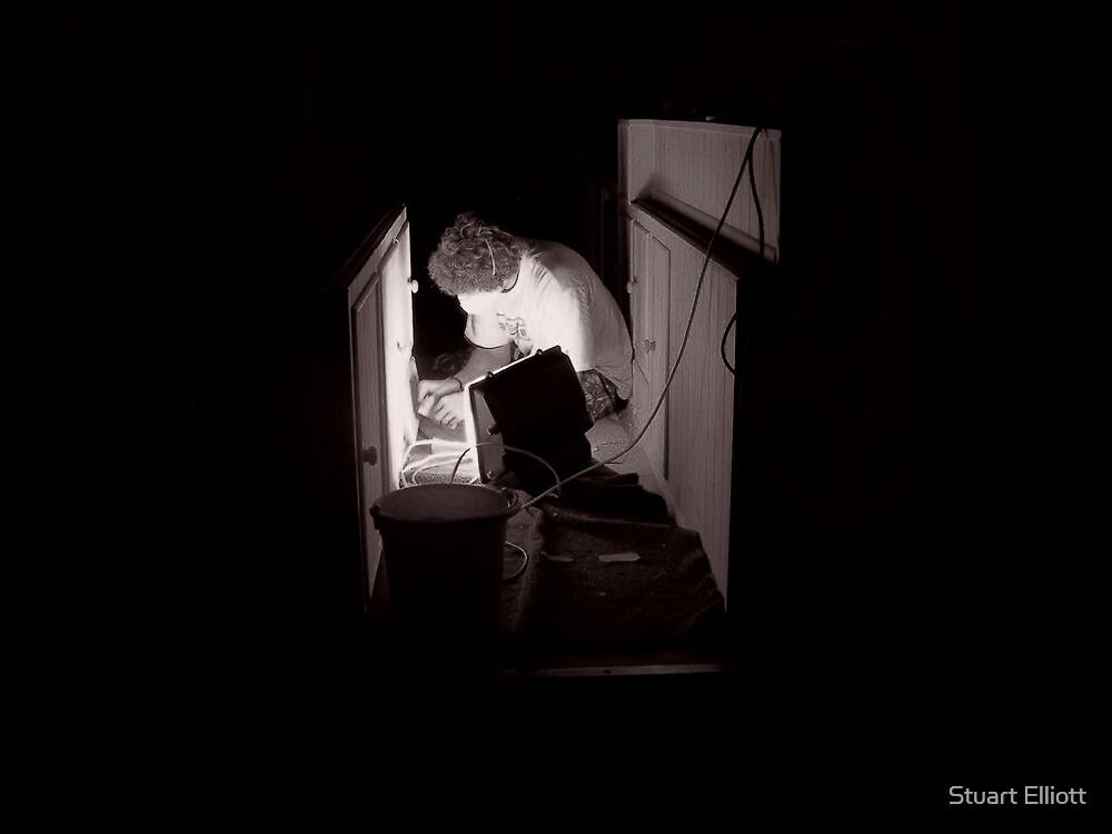 night work by Stuart Elliott