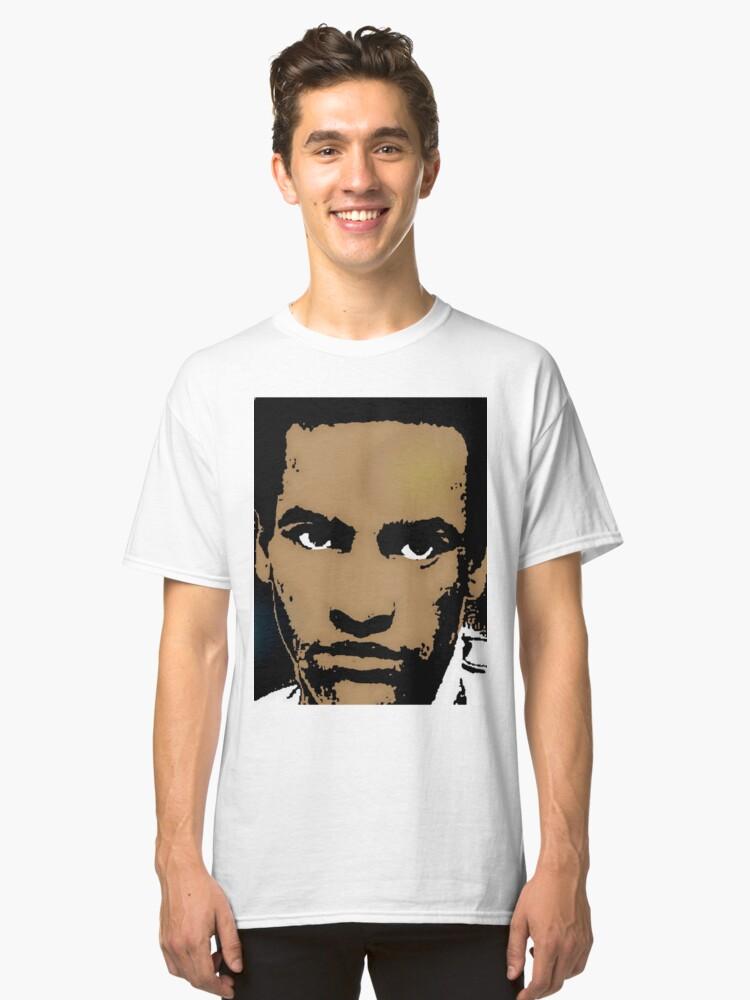 HUEY NEWTON (LARGE) Classic T-Shirt Front