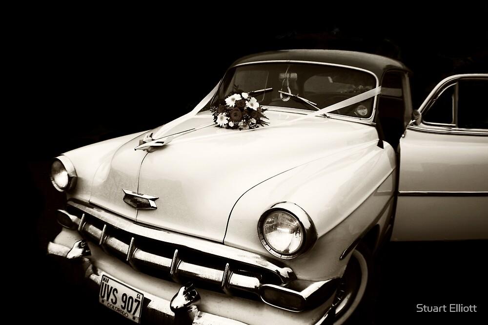 wedding car by Stuart Elliott