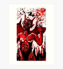 Red Devil Art Print