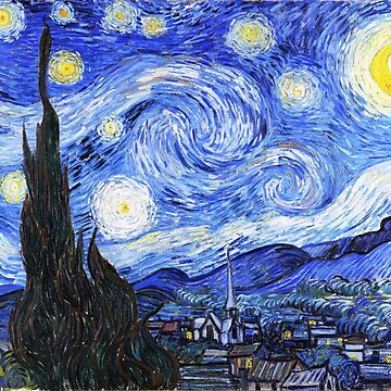 The Starry Night Van Gogh by MerryPerry