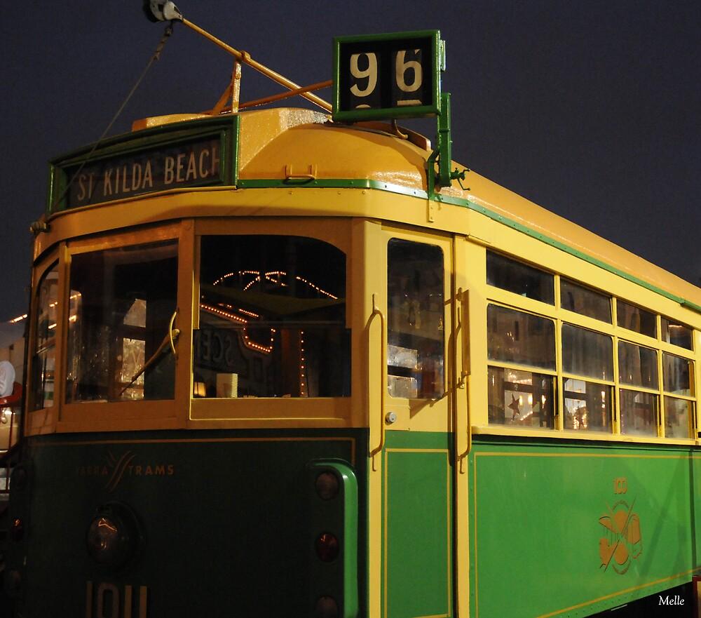 StKilda Beach Tram by Melle