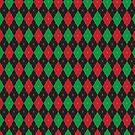 Christmas Argyle by Joanne Rawson