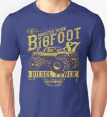 Monster Truck Bigfoot Diesel Power T-Shirt T-Shirt