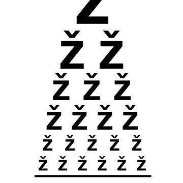 Žižek - Eye Test by Spottyfriend