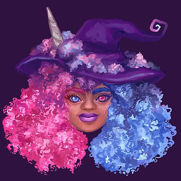 Cotton Candy Witch by adorkablyfeline