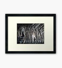 """The Forbidden Forest"" Framed Print"