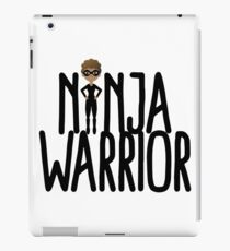Cute Female Ninja Girl -  Person of Color iPad Case/Skin