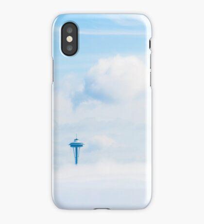 Cloud City, Seattle Space Needle iPhone Case/Skin