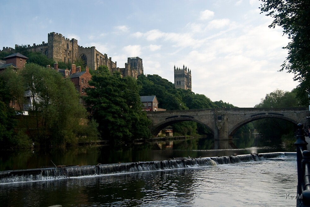 Durham Castle and Cathedral by KevM