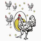 Roseanne Chicken by baygonwarrior
