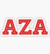 AZA Sticker