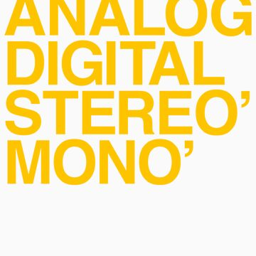 ANALOG DIGITAL STEREO MONO by 316894