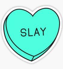 Conversation Hearts - Slay Sticker