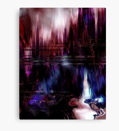 City Future Canvas Print