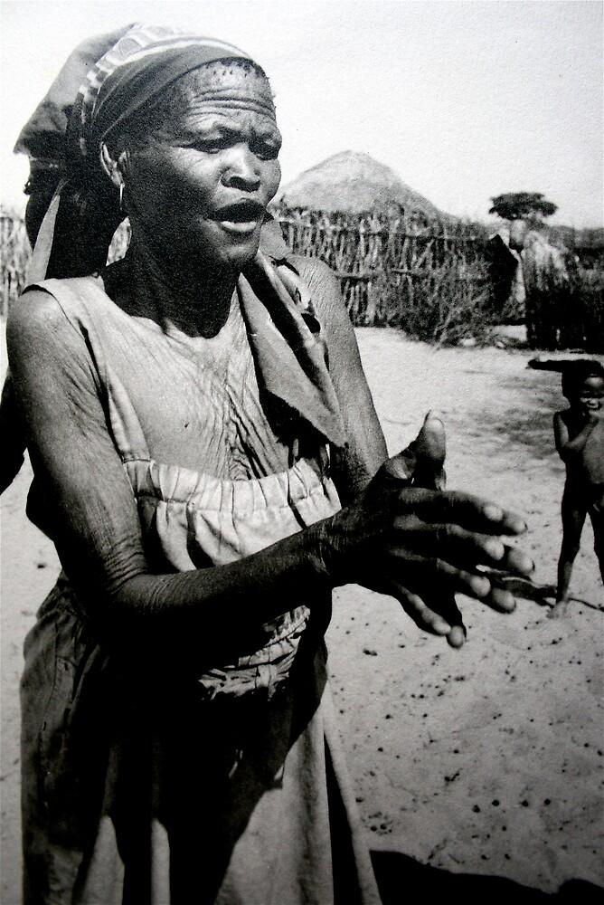 Kalahari Bushwoman by Amanda Gazidis