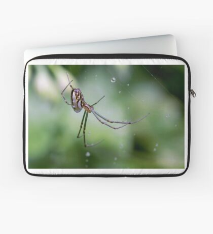 Spiders have jewels on their legs Laptop Sleeve