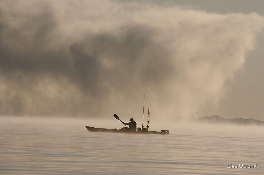 kayak fishing ottawa by Lisa Utronki