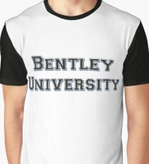 Bentley University - College Font Graphic T-Shirt