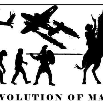 Evolution of Man by EthanWilson98