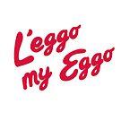 L'eggo my Eggo by ria-draws