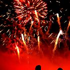 Fireworks Stanford Hall by Mark Mitrofaniuk